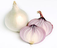 Red and white onion Stock Image
