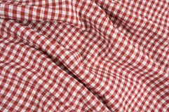 Red and White Picnic Blanket Royalty Free Stock Photos