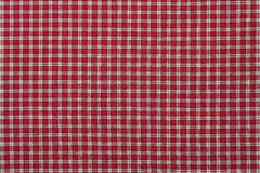 Red and White Plaid Royalty Free Stock Photography