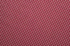 Red and White Plaid Stock Images
