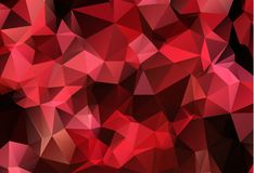 Red White Polygonal Mosaic Background, Vector illustration, Creative Business Design Templates. Red White Polygonal Mosaic Background, Vector illustration stock illustration