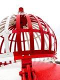 Red and White Port Navigation marker Buoy