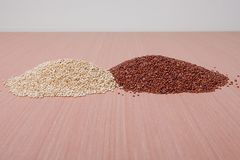 Red & White Quinoa Stock Images