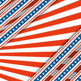 Red and white rays.The colors of the flag of the United States.Abstract festive background. Independence Day USA Royalty Free Stock Images