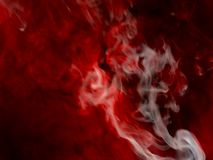 Red and white smoke isolated black background.Abstract smoke mist fog on a black background. Texture. Red and white smoke mist fog on a black background stock photography