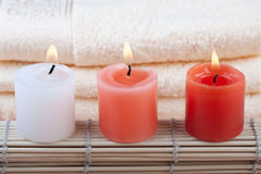 Red and white spa concept Stock Photo