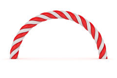 Red-white spiral Stock Image