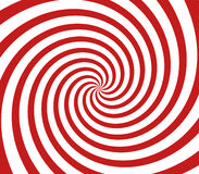Red and white spiral Royalty Free Stock Photo