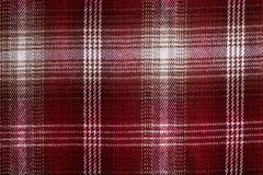 Red and White square textile Pattern Stock Photos