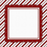 Red and White Striped Candy Cane Striped Background Stock Photography
