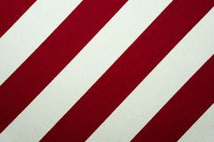 Red and white striped canvas texture Royalty Free Stock Photography