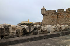 Fort of peniche Stock Image