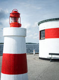 Red and white - Summer Denmark Stock Photography