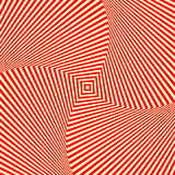 Red white swirl abstract vortex background. Psychedelic wallpaper. Vector illustration Royalty Free Stock Photo
