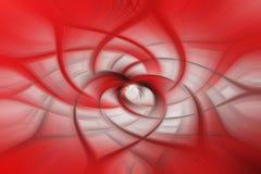 Red and white swirl background - illustration stock illustration