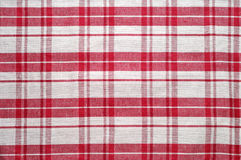 Red and white tablecloth. Pattern (3 Stock Photos