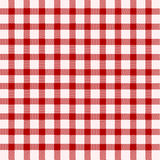 Red and white tablecloth. Background Royalty Free Stock Photo