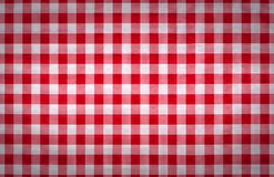 Red and white tablecloth italian style texture wallpaper Royalty Free Stock Photos