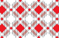 Red and white tartan plaid pattern. Scottish Woven Pattern.Texture for : plaid, tablecloths, clothes, shirts, dresses, paper, royalty free illustration