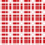 Red and white tartan plaid Scottish seamless pattern.Texture from tartan, plaid, tablecloths, clothes, shirts, dresses. Paper, bedding, blankets and other vector illustration