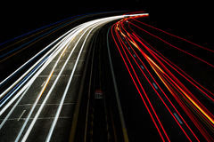 Red White Traffic Time Lapse Photography Royalty Free Stock Image