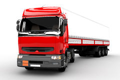 Transport truck Royalty Free Stock Images