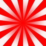 Red White Twirl. Rays Shining From The Centre To The Outside, Illustration Background Stock Illustration
