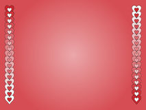 Red and White Valentine Background Royalty Free Stock Images