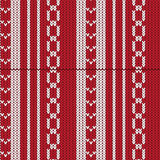Red and white vertical striped with weave shape and sharp shape Stock Photos