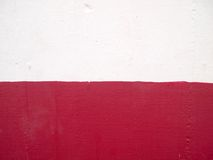 Red and White wall texture. Background Royalty Free Stock Image
