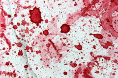 Red and White Watercolor 1 Royalty Free Stock Images