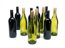 Red & White Wine Stock Photography