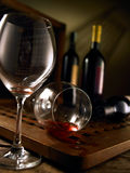 Red and white wine royalty free stock image