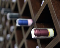 Red and white wine in bottle Royalty Free Stock Photos