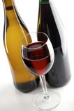 Red and white wines royalty free stock photos