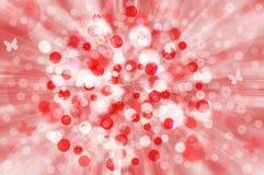 Red&white wiosny tło Fotografia Royalty Free