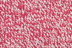 Red and white wool Royalty Free Stock Photo