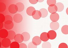 Red and whitel abstract layout with circular shapes. Red and white textured background wallpaper design for text or image layout Stock Photos