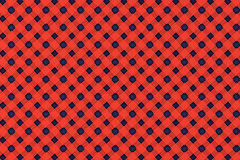 Red wicker pattern as background Stock Photography