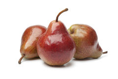 Red William pears Royalty Free Stock Images