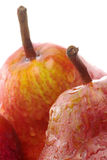 RED WILLIAMS PEAR detail Royalty Free Stock Photos