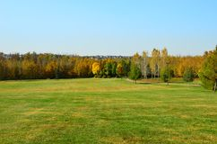 Red Willow Trail Park System, St Albert, Western Canada stock photos