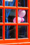 Red  window Royalty Free Stock Images