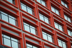 Red window Stock Photography