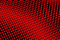 Red Window Screen Macro Royalty Free Stock Image
