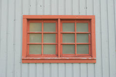 Red Window Royalty Free Stock Photos