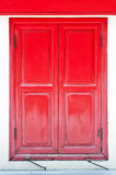 The Red window Stock Photos