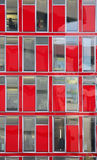 Red windows Royalty Free Stock Images