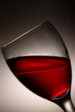 Red wine. A glass of red wine Stock Image