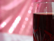 Red wine. Beautiful crystal glass of red wine,photography Royalty Free Stock Images